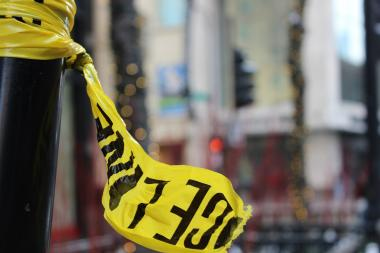 Police tape (File photo.)