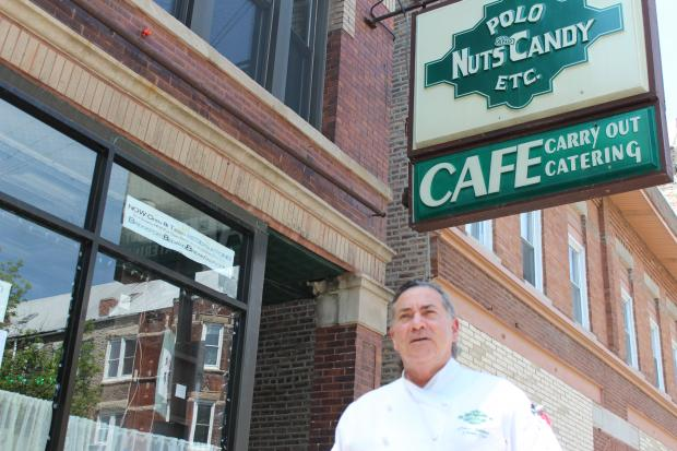 Dave Samber has owned the Polo Cafe since 1985.