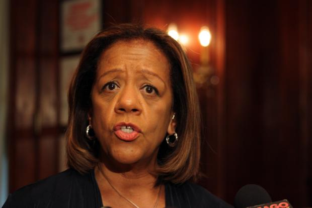 CPS CEO Barbara Byrd-Bennett spoke to members of the City Club of Chicago Tuesday afternoon.