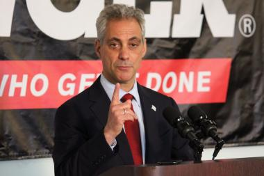 Mayor Rahm Emanuel says there's no single approach to eliminating crime.