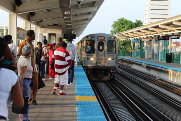 Monday morning marked the first weekday commute of the five-month CTA Red Line South shutdown.