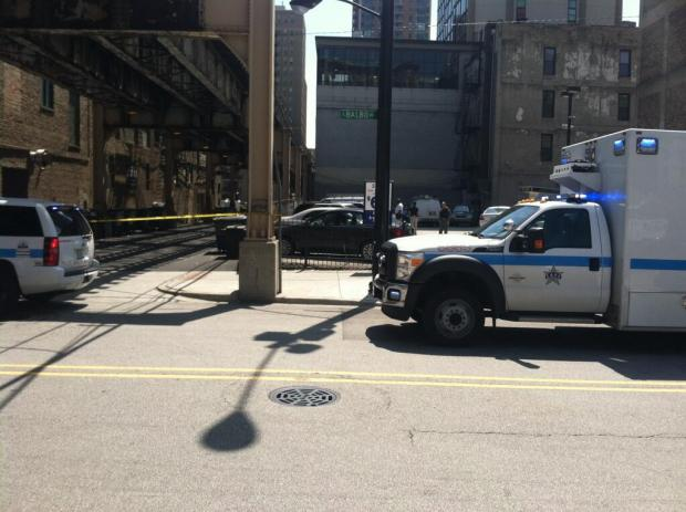Police investigated a suspicious package in the Loop Wednesday afternoon, the third to be reported downtown in three days.