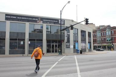 Target is trying to sell the building at 3201 N. Ashland Ave., which it bought last year in hopes of opening a store.