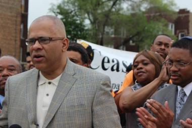 "Former CeaseFire Illinois Director Tio Hardiman said he was ""devastated"" by a report that his wife filed for divorce after he was arrested last month on a domestic battery charge."