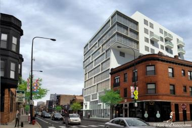 The Out Hotel Chicago is proposed for 3343 N. Halsted St.