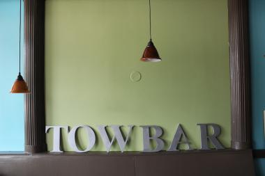 Towbar, a European-style coffee and wine bar, replaced Charmers Cafe at the corner of Greenview and Jarvis avenues.