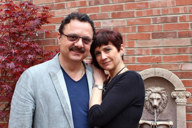 Gianni Delisi and his wife, Susanna, are celebrating not only their restaurant's 25th anniversary this year, but also the day they first met, which happened to be inside the restaurant.