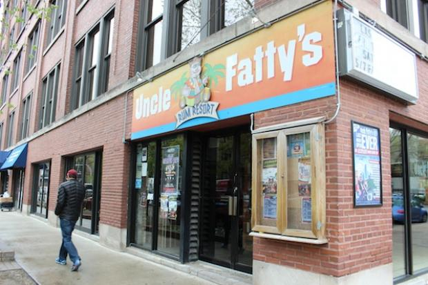 Uncle Fatty's Rum Resort, 2833 N. Sheffield Ave., is closing its doors, but fans can buy signature  paraphernalia at a final party on Tuesday, May 7.