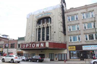 The Uptown Theatre is one of several properties in the proposed Chicago Landmark District.