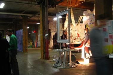 The Version Fest in Bridgeport is the backdrop for various art installations at locations throughout the neighborhood.