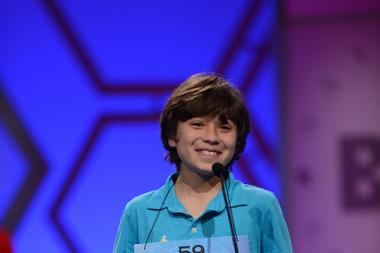 Zander Patent, a sixth-grade student at the Latin School of Chicago, cleared two rounds of preliminaries at the Scripps National Spelling Bee Wednesday morning.