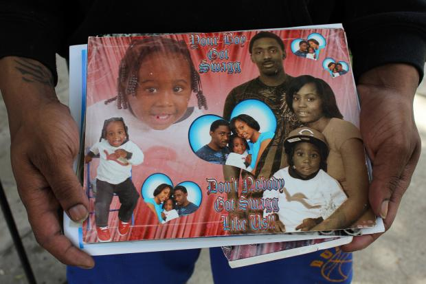 Antwoyn Johnson, 24, was shot dead by police early Sunday. Cops claim Johnson pulled a gun, but his family said the father of two didn't have a weapon on him.