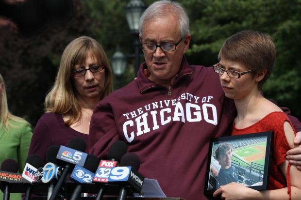 The body of Austin Hudson-LaPore was found in Lake Michigan June 19, a week after the University of Chicago biochemistry student went missing.