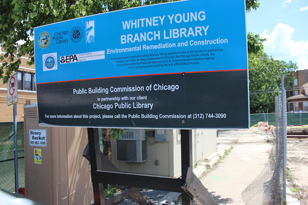 Construction to expand the Whitney M. Young Jr. Library branch could begin in 2014.