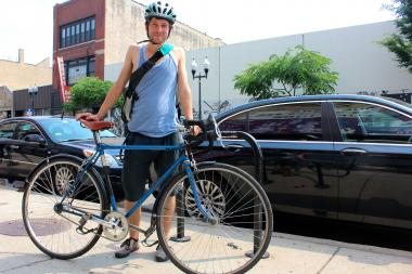 Kevin Swanson wants to help new cyclists build confidence while making the roads safer.