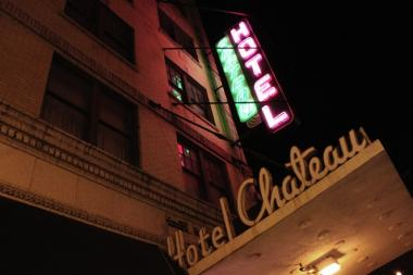The Chateau Hotel 3820-3838 N. Broadway.