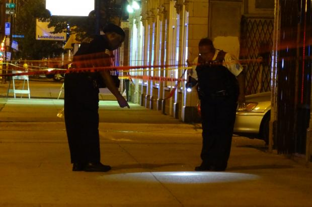 The shootings were one of more than two dozen that killed six people in Chicago overnight.