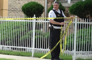 Four people were shot in Chicago Lawn on Saturday, June 15, 2013.