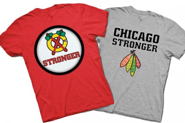 "The Lakeview-based ""Cubby Tees"" shop has pulled its ""Chicago Stronger"" shirts after angry backlash."