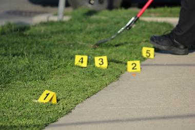 At least four people were shot Saturday night and Sunday morning, police said. File photo.