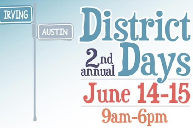 The second-annual District Days event promises music, sidewalk sales, a car show and arts and crafts.