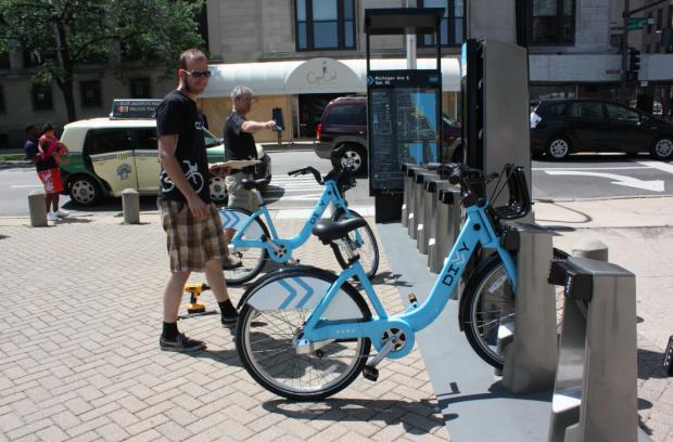 The Chicago Department of Transportation's long-awaited bike share program has arrived on streets citywide.