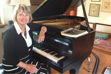 Northeastern Illinois University music teacher Elyse Mach has been an instructor at the school for 50 years.
