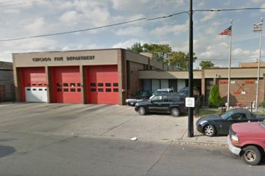 The baby was dropped off at 2236 W. 69th St., the home base for Engine 101, about 4:47 p.m.