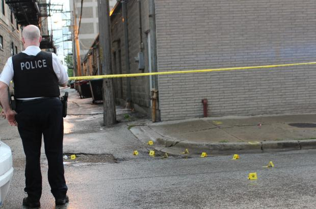 An undercover police operation in uly nabbed 14 people who are suspected of taking part in gang and drug activity near an Uptown crime hotspot where  eight people were shot  in June, officials said.