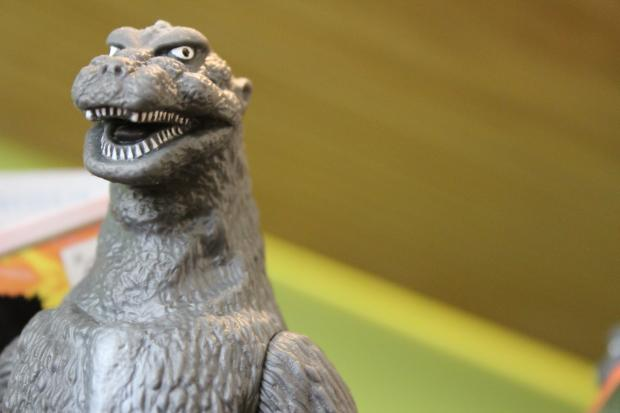 The Bridgeport toy store is stocked with rare Godzilla and pop culture action figures.