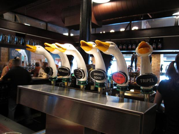 The Goose Island Brewpub will close Sunday for what owner Ken Stout calls