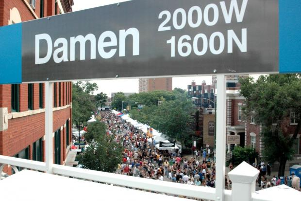Green Music Fest takes place June 22-23 on Damen Avenue between North Avenue and Schiller Street.