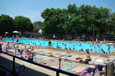 Holstein Park pool at 2200 N. Oakley Ave. in Bucktown is set to open Friday, along with 49 other Chicago Park District outdoor swimming pools.