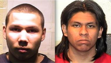 Jovanny Martinez (l.) and Erick Ortiz, 19, were both found guilty of killing Alex Arellano in 2009.
