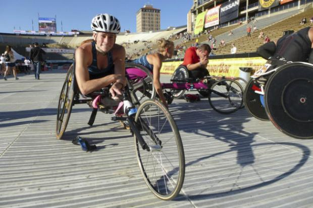 Edison Park native Kelsey LeFevour, a Resurrection High School graduate, is part of Team USA, which will compete at the International Paralympic Committee Athletics World Championships in July.