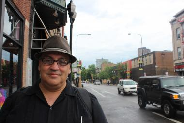 "Luis Alfaro, 52, is a playwright visiting Chicago from Los Angeles. He said the Pride Parade festivities will be more ""meaningful"" because of Supreme Court's decisions to strike down the Defense of Marriage Act."