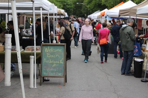 The popular market will come to Andersonville every Wednesday until Oct. 16.