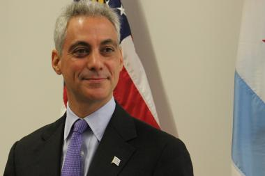 "Mayor Rahm Emanuel is at risk for becoming a ""re-gifter"" if the Blackhawks lose to the Bruins in the Stanley Cup Final."