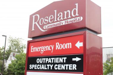 A man was dropped off at Roseland Community Hospital with multiple bullet wounds, police said.