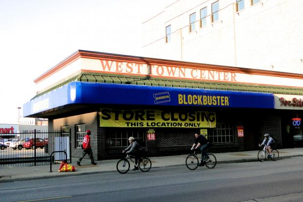 A Blockbuster at 1303 N. Milwaukee Ave. in Wicker Park is scheduled to close July 21.