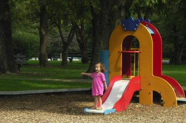The well-loved playground equipment at Norwood Park will be replaced with new equipment, courtesy of a new city program.