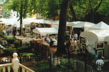 The Old Town Art Fair is now in its 64th year.