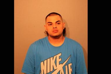 Oscar Sotelo, 20, of the 2500 block of W. Cortland Ave., was arrested in the 1600 block of North Campbell Ave. at 1:40 a.m. Sunday and charged with Aggravated Unlawful Use of a Weapon - Loaded Gun.