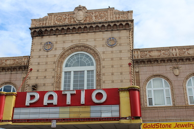 Although the Patio Theater expects to close as soon as the summer weather arrives because of the broken air conditioning system that the owners cannot afford to fix, it will be open during the District Days festivities.