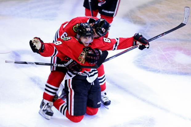 The Blackhawks are moving on to the Stanley Cup finals to face the Boston Bruins.