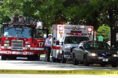 Two men were injured in shootings in Chicago Wednesday afternoon, police said. (File photo).