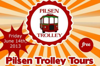 A trolley that will stop at more than 25 Pilsen businesses is coming to town Friday.