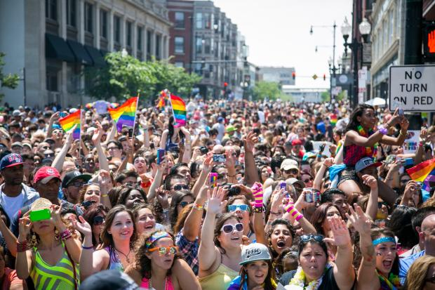 The Chicago Pride Parade took place in Lakeview on June 30.
