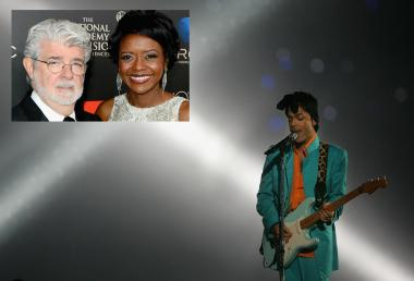 A source tells DNAinfo.com Chicago that pop star Prince will play at the wedding reception of George Lucas and Mellody Hobson.
