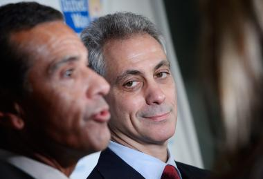 Rahm Emanuel and L.A. Mayor Antonio Villaraigosa have exchanged bets — and trash talk — about the Hawks and Kings playoff series.